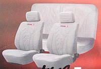Чехлы на сиденья R-0362721А серые