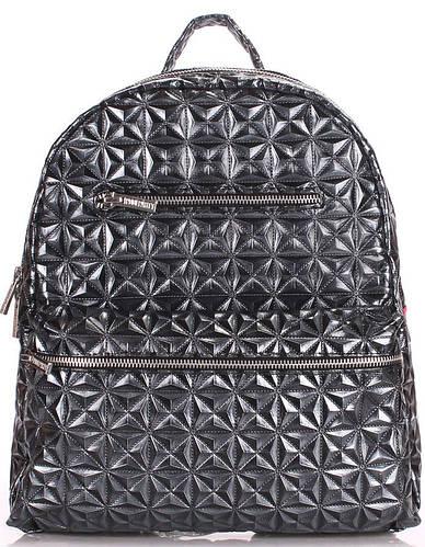 Эксклюзивный женский рюкзак на 4 л  POOLPARTY mini-bckpck-mosaic-darksilver