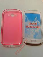 Чехол TPU для Samsung i9080/i9082 Grand Розовый