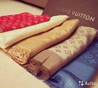 Шикарный платок палантин - накидка LV Louis Vuitton Луи Виттон