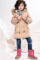Зимнее пальто для девочки DT-8239
