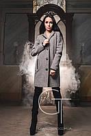 Женское твидовое пальто PL-8658
