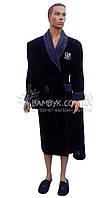 Подарочный набор Nusa для мужчины (халат+полотенца+тапочки) №1160