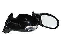 Зеркала наружные YZ-3252С Black с подсветкой и указателями поворотов