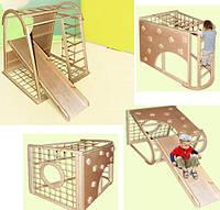 Детский спортивный комплекс с горкой Неваляшка