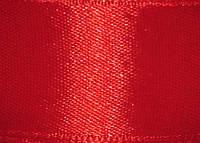 Атласная лента 50мм красная