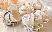 Чайный Сервиз Морозко 12 персон 30 предметов Новый