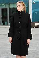 Пальто  женское  кашемировое черное 46р