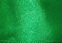 Атласная лента 50мм зеленая