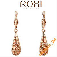 Сережки Ажурные Roxi Brand 18К покрытие золотом