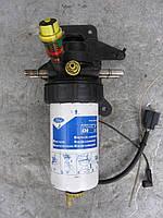 Кронштейн (корпус) топливного фильтра (подогрев + подкачка) б/у на Ford Transit 2.0Di, 2.4Di 2000-2006 год