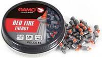 Пули Gamo. Пули для пневматики Gamo Red Fire 0,51 г, 4,5 мм, 125 шт/уп. Пули 7,87 gr. Пули Gamo Red Fire 0,51