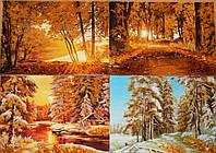 Картины из янтаря Пейзажи под заказ