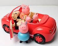 Свинка Пеппа - Машина, набор для пикника. Качество