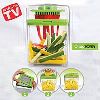 Овощерезка для овощей Chop Magic, многофункциональная универсальная овощерезка, измельчитель продуктов