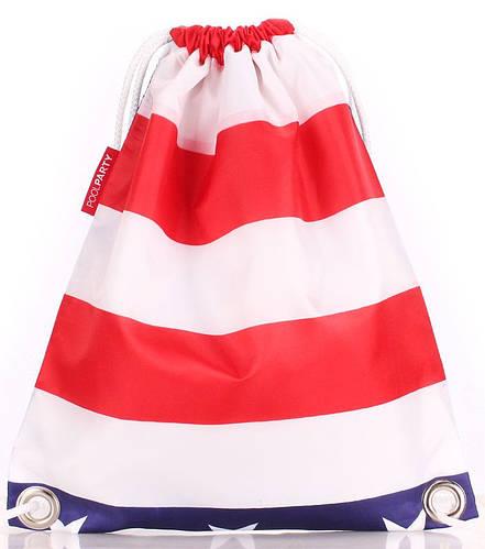 Практичный женский рюкзак на 5 л  POOLPARTY sack-usa