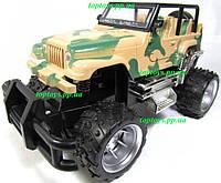 Машина на радиоуправлении Джип военный Wrangler Вранглер, 17см, аккумулятор, камуфляж