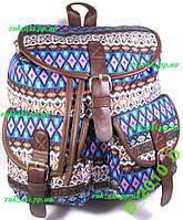 Рюкзак женский городской молодёжный орнамент. Хит!
