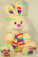 Мягкая игрушка Зайчик заяц, 37см, поёт песенку