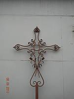 Кованый крест надгробный арт.рт 1