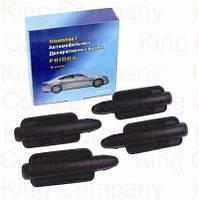 Ручки дверные Lada Priora LA2170 (черные)