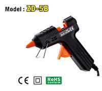 Клеевой пистолет ZD-5B, 7мм, 15W