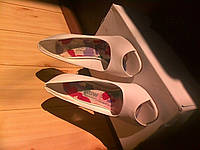 Классические белые туфли Rainbow