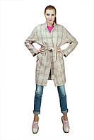 Красивое женское пальто до колен на осень-весну от производителя