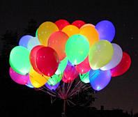 СВЕТЯЩИЕСЯ Гелевые Шарики,30 см,c Hi-float,разноцвет(10-14 цветов).