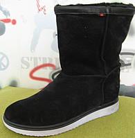 Luxury urban style! Мужские зимние угги натуральная замша мех сапоги ботинки