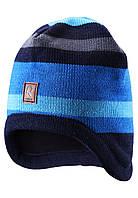 Зимняя шапка для мальчика Reima 528486-6560А. Размер  50-56.