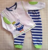 Детский комплект для новорожденных Морячок р.74-86 см