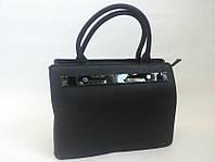 Черная большая сумка 0611