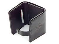 Элегантный мужской кожаный кошелек. Стильный портмоне mod.Lotier. Отличное качество. Купить онлайн. Код:КДН710