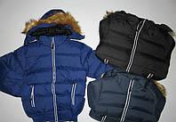 Курточка для мальчиков на меховой подкладке Nice Wear 2-3-4-5-6 лет