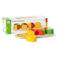 Деревянная игрушка Геометрика MD 0507   в кор-ке, 29-9,5-6,5см