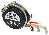 Рулетка  30м х 9,5мм с автосмоткой FatMax Self Retract стальная лента, закрытый алюминиевый корпус