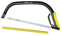 Пила лучковая 530мм (шведский зуб, для сухой древесины)  STANLEY 1-15-529