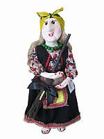 Кукла-оберег Баба-Яга (желтый платок) (Куклы)