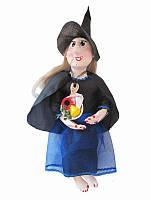Оберег Баба-Яга (черное платье) (Куклы)