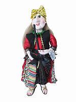 Кукла-оберег Баба-Яга (платок в горошек) (Куклы)