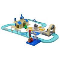 Игровой набор Мега трек с двумя Умными машинками Рой и Эмбер, Robocar Poli (83283)