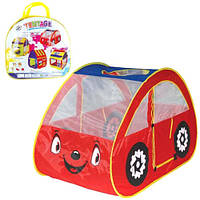 Палатка детская Машина красная