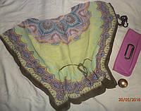 Красивая летняя туника-платок