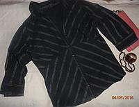 Стильная приталенная блузка-рубашка