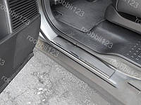 Накладки на пороги Honda Pilot 2 (2009->)