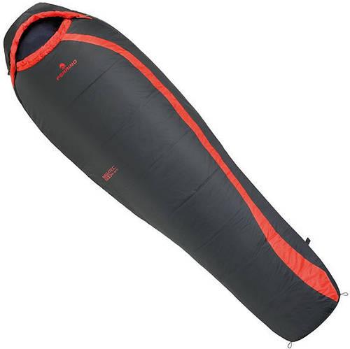 Спальный мешок Ferrino Nightec Lite Pro 600/-4°C Dark Grey (Left) 922928, темно-серый / красный