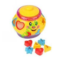 Музыкальный горшочек Сортер  для малышей. JT 0915