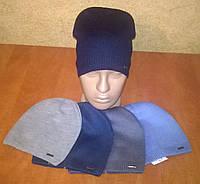 Весенняя шапка для мальчиков, тонкая однослойная вязка