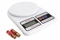 Электронные Кухонные Весы 10 кг MKS - 400 + Батарейки